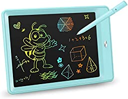 KOKODI LCD Writing Tablet, 10 Inch Toddler Doodle Board Drawing Tablet, Erasable Reusable Electronic Drawing Pads,...