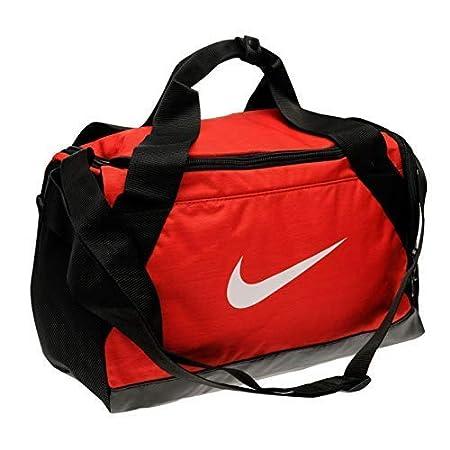 d5e8b00a97 Nike Brasilia Bags Holdalls Shoebag Backpack Sports Bag Kitbag Gymbag  H:25.5 x W:40.5 x D:23 (cm) Extra Small - Red: Amazon.co.uk: Luggage