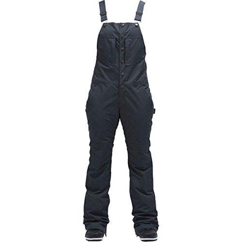 Air Blaster Hot Bib Womens Snowboard Pants - Large/Black Wax by AIRBLASTER