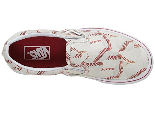 Vans Kids Sports Slip-on Shoe (11.5 Little Kid M, Baseball/Red) - Image 8