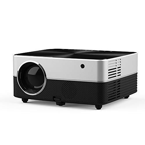 NMSL Projector LED with The Same Screen 2800 Lumens 1080P Multi-Port Support: LINE OUT/AV/USB1/OUT 5V1/HDMI-IN/VGA