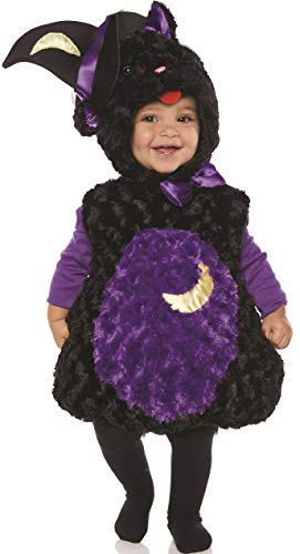 Underwraps Kid's Toddler's Halloween Spooky Kitten Belly Babies Costume Childrens Costume, Black, Large -