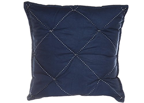 Nautica Lawndale Ruched Throw Pillow, 18x18