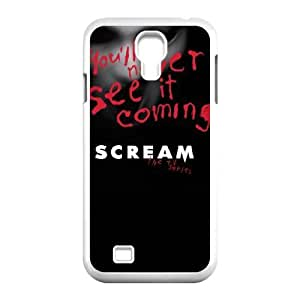 HXYHTY Cover Custom Scream Phone Case For Samsung Galaxy S4 i9500 [Pattern-5]