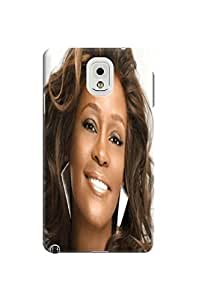 Durable hard TPU Protection Case/cover fashionable pretty Whitney Houston Designed for SamSung Galaxy note3 Kimberly Kurzendoerfer