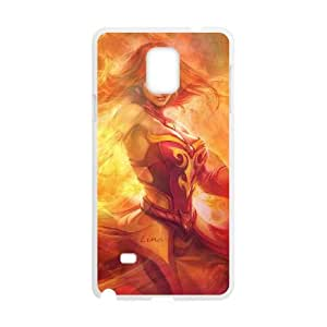 dota 2 Samsung Galaxy Note 4 Cell Phone Case White DIY Gift xxy002_0389847
