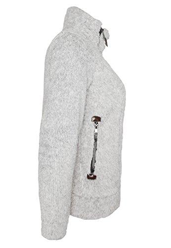 Sublevel Mujeres Ropa superior / Sudaderas con cremallera Dorisa gris