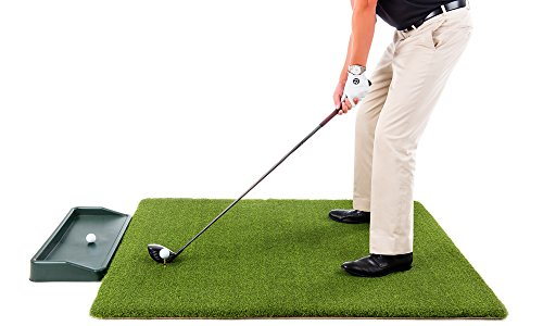 Ultimate Super Tee Golf Mat with Tray – 4 feet x 5 feet