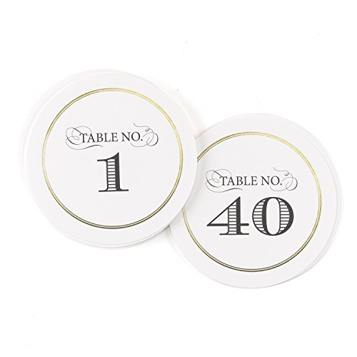 Round Table Number Cards - 3