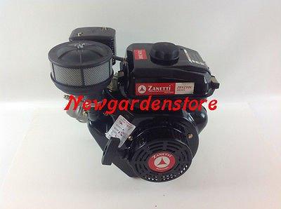 Motor motocultor Zanetti Diesel zdx230 C cónico arranque ...