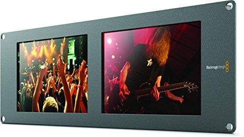 Blackmagic Design Smartview Duo Rackmountable Dual 8'' LCD Monitors by Blackmagic Design
