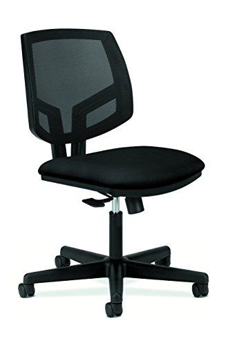 HON Volt Task Chair - Mesh Computer Chair for Office Desk, Black (H5711) (Table Hon Office)