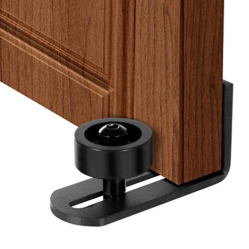 Floor-Guide-Stay-Roller-for-Barn-DoorAdjustable-RollerWall-Mount-SystemImproved-Flush-Mount-DesignFit-All-Size-Door