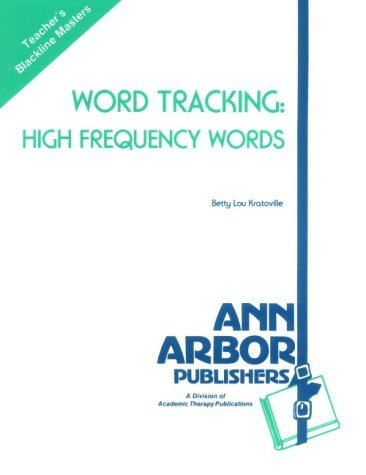 Word Tracking: High Frequency Words (A Book of Blackline Masters)