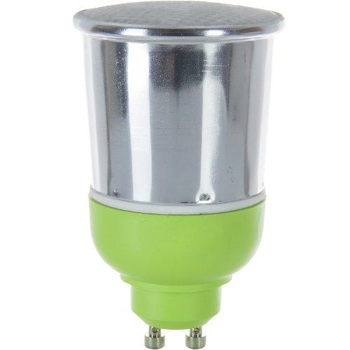 7w Mini Twist (Sunlite SM7GU10/65K 7 Watt Mini Spiral Energy Saving CFL Light Bulb GU10 Base Daylight)