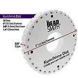 The Beadsmith Round Kumihimo Disk, 6 inch