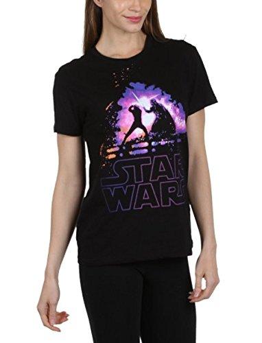 Star Wars Luke Vader Lightsaber Battle Women's Juniors