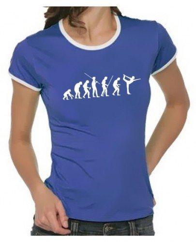 Coole-Fun-T-Shirts Yoga Evolution Ringer Camiseta, Hombre ...