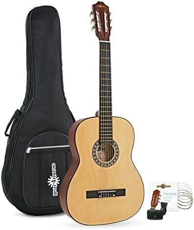 Paquete de Guitarra Espanola de Gear4music: Amazon.es ...