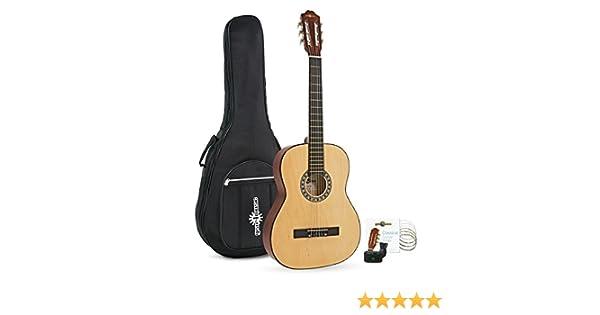 Paquete de Guitarra Espanola de Gear4music: Amazon.es: Instrumentos musicales