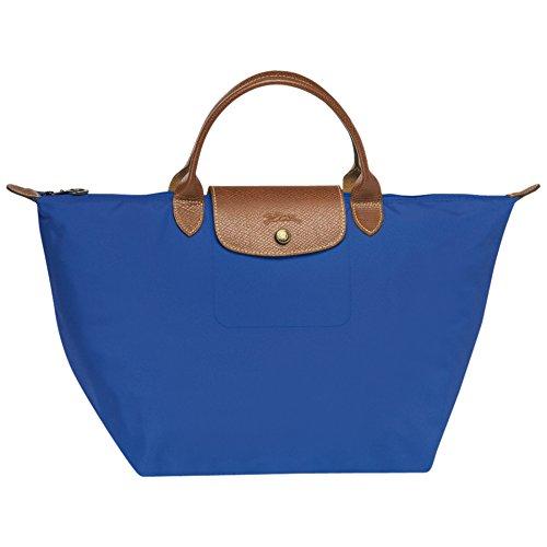 Longchamp, Borsa tote donna blu blu royal