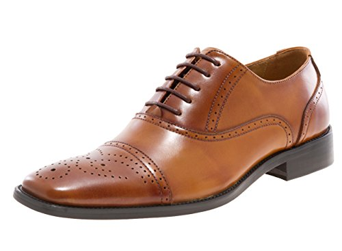 Sauter Newyork Hommes Lawrence Oxford Chaussure Tan