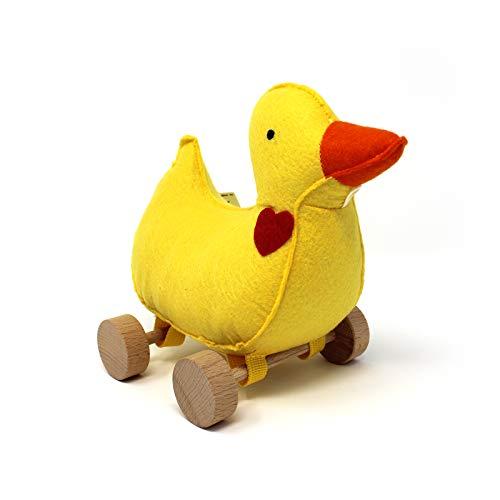 Jack Rabbit Creations Inc. Felt Rolling Toy Duck