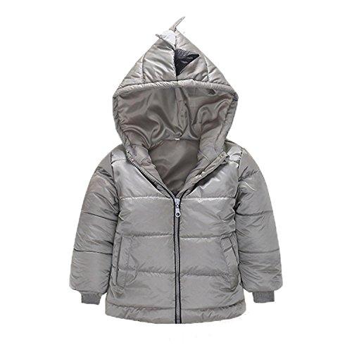 Newmarket Jacket (Baby Boy Coat Children Outerwear Coat Boy Jacket Baby Girls Coat Hooded Children Kids Gray 5)