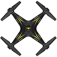 Sacow Quadcopter Drone, 2.4G HD Camera FPV WIFI Drone Quadcopter UAV Remote Control Helicopter Real-time (Yellow)