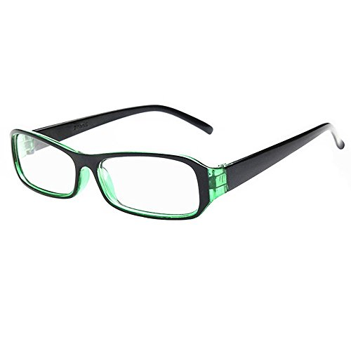FancyG® Vintage Inspired Classic Rectangle Glasses Frame Eyewear Clear Lens - - Fake For Eyeglasses Kids