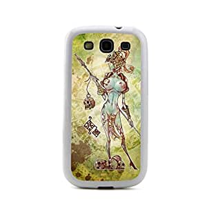 CaseCityLiu - Naked Female Chinese Zombie Myth 3D Design White Bumper Plastic+TPU Case Cover for Samsung Galaxy S3 SIII I9300