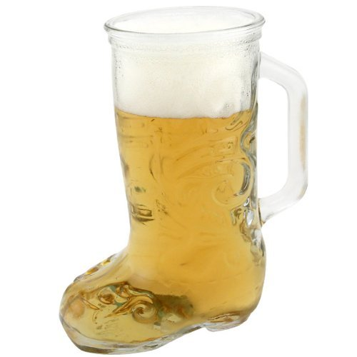 Anchor Beer - Anchor Hocking Glass Cowboy Boot Mug