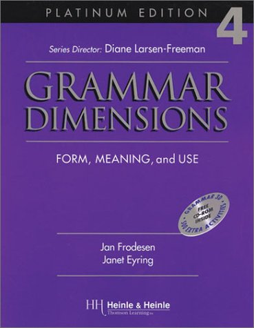 Grammar Dimensions: Form, Meaning and Use (Platinum Edition 4)