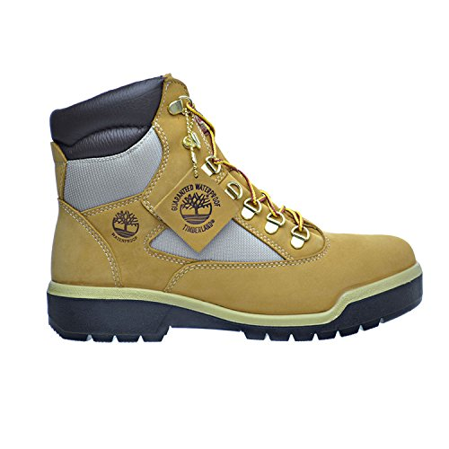 "Timberland Men's Field Boot 6"" F/L Waterproof Wheat Waterbuck Boot 12 D (M)"