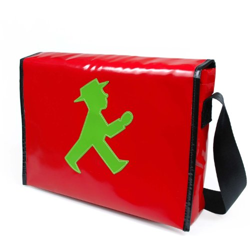 Ampelmann, Borsa a tracolla donna Rot One size
