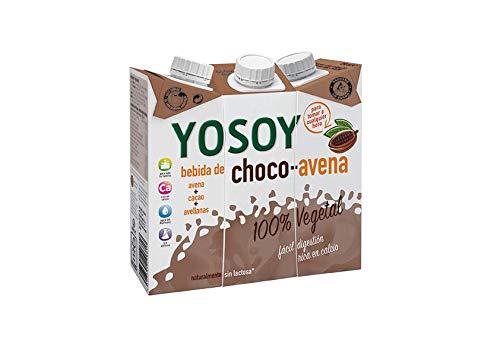 YOSOY Bebida de Avena con Avellanas y Cacao 250ml [caja de 8x3x250ml]: Amazon.es: Alimentación y bebidas