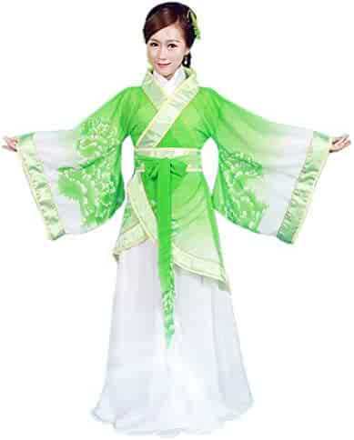 Ez-sofei Women s Ancient Chinese Traditional Hanfu Dress Han Dynasty  Cosplay Costume 9a14d4efb
