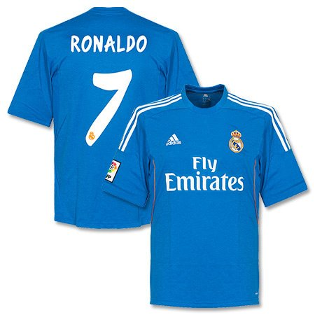 new style 7e351 7a96a Real Madrid Away Ronaldo Jersey 2013 / 2014-XL