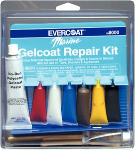 Evercoat Marine Gelcoat Repair Kit 108000 Repair Gelcoat - Fiberglass Evercoat Gel