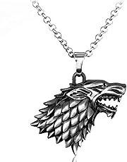 قلادة ذئب ستارك من قيم اوف ثرونز