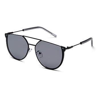 Amazon.com: Gafas de sol unisex de lujo con doble puente ...
