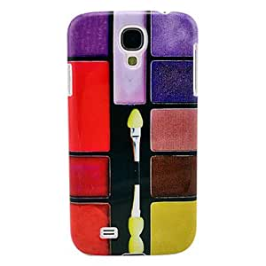 Dark Color Series Multi-color Eye Shadow Hard Plastic Cover for Samsung Galaxy S4 I9500
