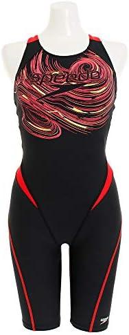 Speedo(スピード) フィットネス水着 レディース ニースキン ロゴカモ プール 水泳 トレーニング SFW12005