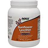 Health & Personal Care : NOW Supplements, Sunflower Lecithin with Naturally Occurring Phosphatidyl Choline and Other Phosphatides, Powder, 1-Pound