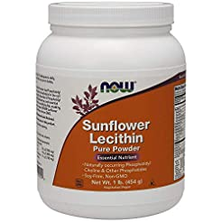 NOW Supplements, Sunflower Lecithin with...