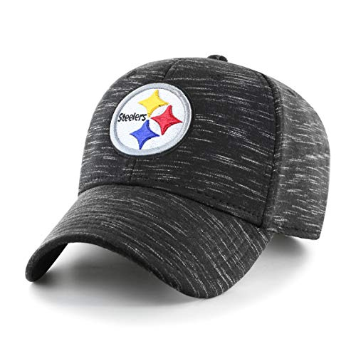 - OTS Adult NFL Men's Space Shot Star Adjustable Hat, Black, One Size