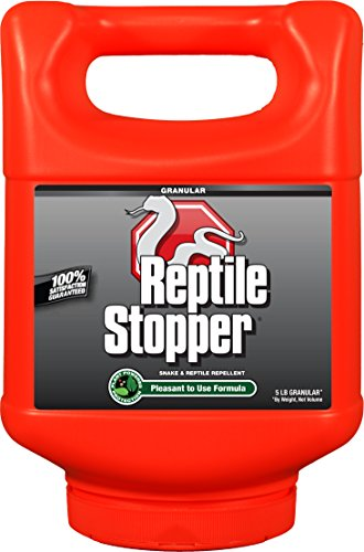 Messina Wildlife Reptile Stopper Shaker Canister, 5 lb, Red ()