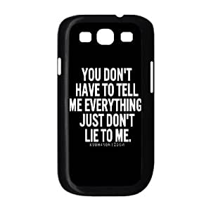TV shows Lie to me posters art PC Hard Plastic phone Case Cover For Samsung Galaxy S3 JWH9130623