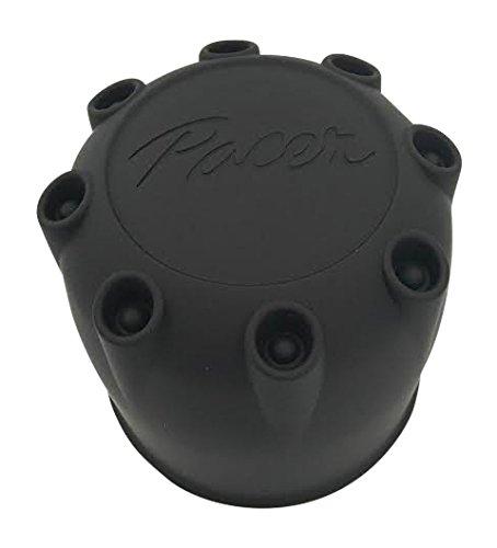 Pacer Wheels 10382010F-1 89-8114HM Black Wheel Center Cap