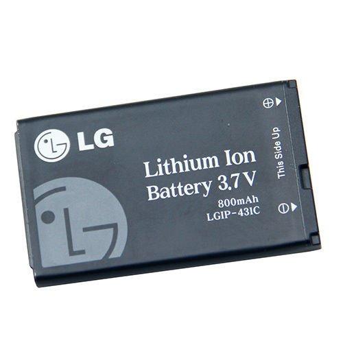 (New OEM Original LG Battery LGIP-431C For AX140 AX145 LX140 Akoh UX145 VX145)